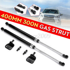 400mm 300N Lift Support Gas Struts Spring Kit With Brackets For Auto Car