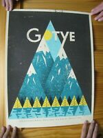 Gotya Poster Kimbra Silk Screen Signed And Numbered Doe Eyed New York 2012