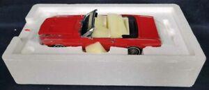 Danbury Mint 1/24 1967 FORD MUSTANG CONVERTIBLE Display Model!