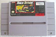 RACE DRIVIN' (1990) SUPER NINTENDO SNS-RV-USA - US IMPORT