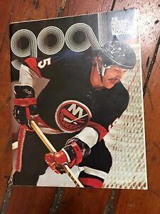 New York Islanders vs California Golden Seals Program February 3, 1974