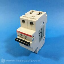 ABB S202-K2 Supplementary Circuit Breaker, K Curve, 2-Pole FNFP