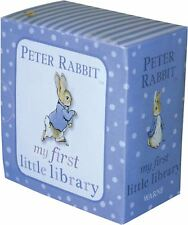 Rainbow Designs Peter Rabbit My First Library Baby Toddler Early Reading Book BN