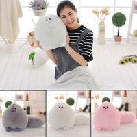 2017 Christmas Plush Fluffy Persian Cat Toy Soft Pillow Stuffed Animal Doll