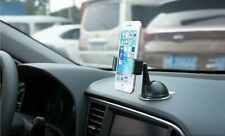 LAX Gadgets Universal Suction Car Mount for Smartphones, Black