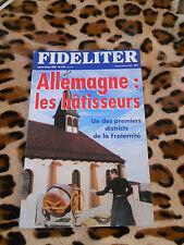 Revue - FIDELITER n° 139, 2001 - Allemagne: les bâtisseurs