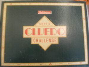 Super Cluedo Challenge - Waddingtons (1986) SPARE PARTS - Choose your piece.