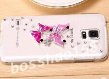 Handmake Glitter Luxury Bling Diamonds Hard back Phone Case Cover for Samsung #1