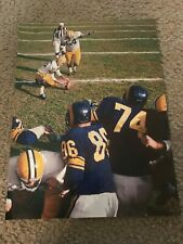 Vintage JERRY KRAMER Print Photo Vintage GREEN BAY PACKERS 1962 SEASON RARE
