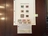 US STAMP SET 1901. Scott 294 -299, Pan-American Issue . See Description
