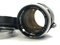 [Optical Mint] CANON 50mm f/1.4 Leica screw mount L39 LTM w/ Hood from JAPAN