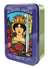 NEW Morgan Greer Tarot in Tin Cards Deck Bill Greer Lloyd Morgan