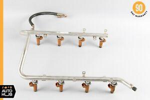 00-06 Mercedes W220 CLK430 E500 CL500 Fuel Injector Rail 1130700595 OEM