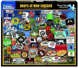 Beers of New England 1000 piece jigsaw puzzle 760mm x 610mm (wmp)