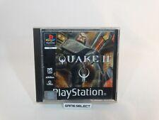 QUAKE II 2 SONY PLAYSTATION 1 2 3 ONE PS1 PS2 PS3 PSX PAL ITA ITALIANO ORIGINALE