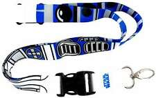 Star Wars R2-D2 (R2D2) Pattern Breakaway Lanyard