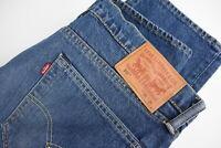 LEVI STRAUSS & CO. 511 Men's W36/L34 Skinny Tapered Stretchy Blue Jeans 28267-JS