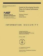 NEW Guide for Developing Security Plans for Federal Information Systems