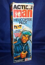 Vintage Action Man Palitoy 1977 Helicopter Pilot Empty Box