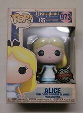 #973 Alice (Anniv). Disneyland 65th Anniv. Funko Pop! Disney. Special Ed Exc.