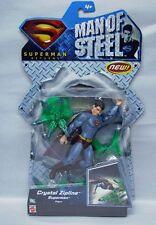 Superman Returns Man of Steel Crystal Zipline Superman Mattel 5in NIP S123-12b