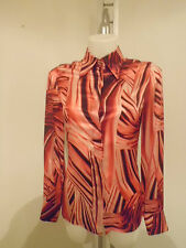 Versace Silk Shirt Woman Size 40 € 295 00