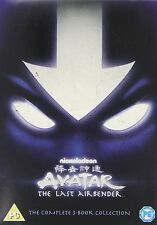 AVATAR THE LAST AIRBENDER COMPLETE 3 BOOK COLLECTION 1 2 3 DVD R4 1-3