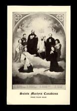 "santino-holy card""SS.MARTIRI GESUITI CANADESI"
