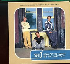 911 / How Do You want Me To Love You? - CD2 - Card Sleeve - MINT