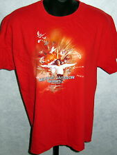 Michael Jackson T-Shirt SIZE XL EUC King Of Pop Vintage THE IMMORTAL WORLD TOUR