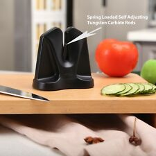 Ergo Chef FastEdge II Knife Sharpener and Hone with Auto Adjusting Inserts 2in1
