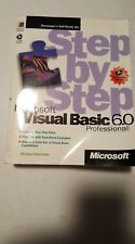 Step by Step Microsoft Visual Basic Professional 6.0 & cdrom Michael Halvo