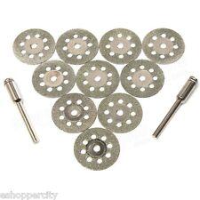 10+2 Rotary Tool Accessory Fits Craftsman B&D Diamond Cut Off Wheel Disc