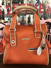 NWT Juicy Couture Daydreamer Handbag Shoulder Bag Tote Neoprene Coral + Keychain