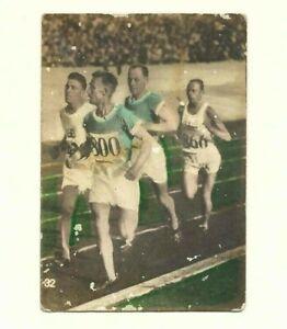 Ville Ritola Paavo Nurmi Finland Tobacco Card Tabacalera La Morena 1928 Olympics