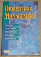 Operations Management-Nigel Slack,etc., Stuart Chambers, Christine Harland, Ala