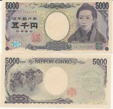 5000.00 JAPANESE YEN EXCELLENT FOR TRAVELING TO JAPAN SHIPPED FROM LA