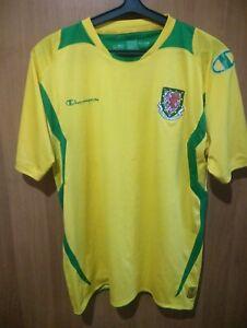 Wales original Champion 3-rd soccer shirt jersey trikot 08-09-10 seasons Size L