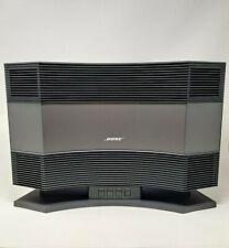 New listing Bose Acoustic Wave Music System Model Cd-3000, Black - w/ Pedestal