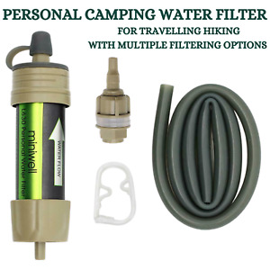 AIMEX PERSONAL WATER FILTER SURVIVAL OUTDOOR HIKING TRAVEL CAMPING WATER FILTER