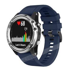 Silicone Sports Watch Band For Garmin Fenix 6/6X Pro/5 5X Plus/Fenix 3/3 HR S60