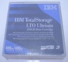 Brand New Factory Sealed IBM TotalStorage Ultrium LTO3 Cartridge 800GB 400GB