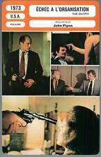 ECHEC A L'ORGANISATION - Duvall,Black,Flynn (Fiche Cinéma) 1973 - The Outfit
