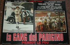FOTOBUSTA, LA GANG DEL PARIGINO (PIERROT LE FOU), ALAIN DELON, AUTO, CAR