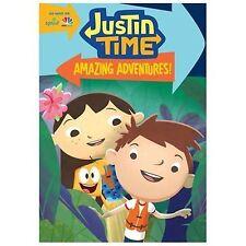 Justin Time: Amazing Adventures (DVD, 2014)