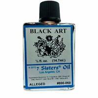 Black Art 7 Sisters 1/2oz Spiritual Oil Santeria Wicca Magia