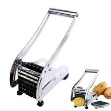 2015 Stainless Steel French Fry Cutter Potato Vegetable Slicer Chopper 2 Bl