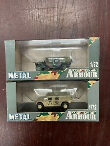 Armour Collection, Hummer M998 Desert Commando & Hummer M998 Commando 1:72