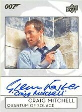 2019 James Bond Collection A-GF Glenn Foster Craig Mi Inscription Autograph Card