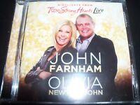 John Farnham Olivia Newton John Highlights From Two Strong Hearts CD – New